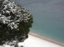 Bergeggi sotto la neve