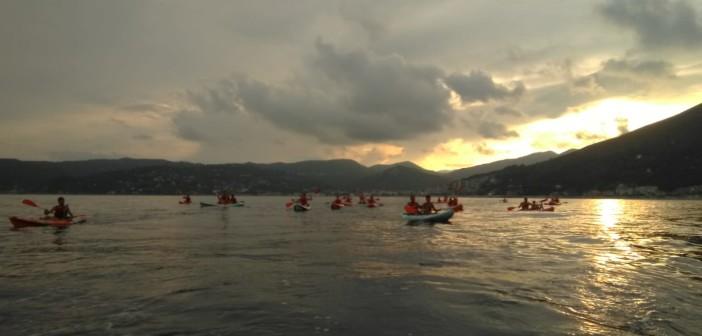 Escursione guidata serale in canoa seguita da cena in riva  – 27 agosto