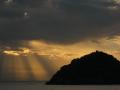 Alba su Isola di Bergeggi