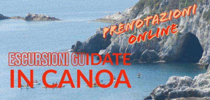 Prenotazioni online escursioni in canoa