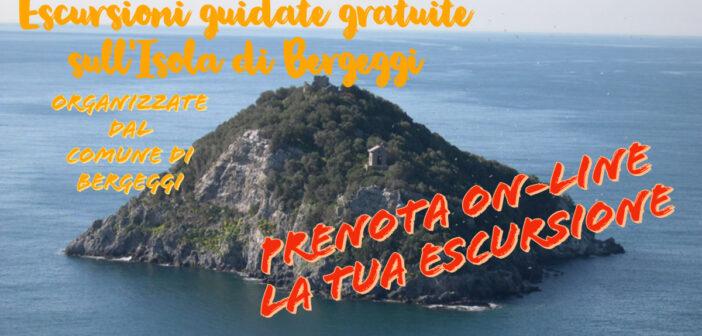 Prenotazioni on line escursioni gratuite sull'Isola di Bergeggi